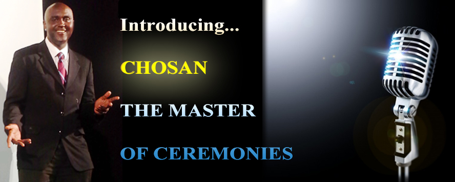 Chosan's the Master of Ceremonies